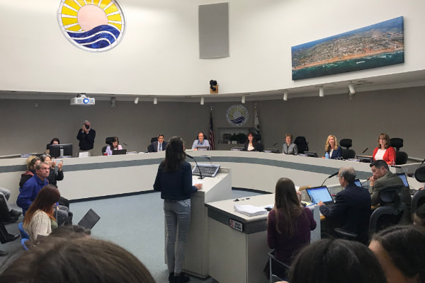 SWPPP interns present to Solana Beach City Council